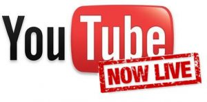 youtube 'now live' icon