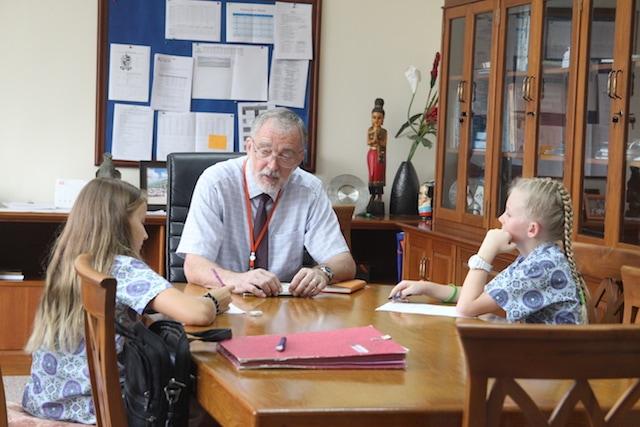Neil Richards Headmaster