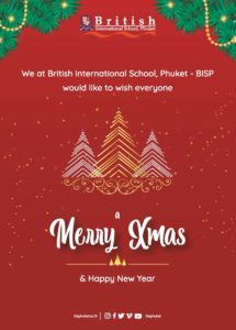 BISP Merry Christmas and Happy New year 2019